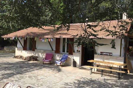 Casa nel bosco ai piedi del lago - Terni