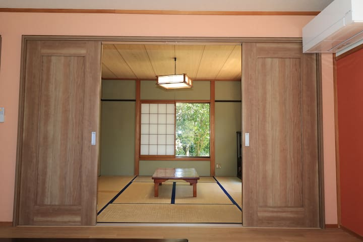 15 min Magome. Spacious/max15/party/free wifi