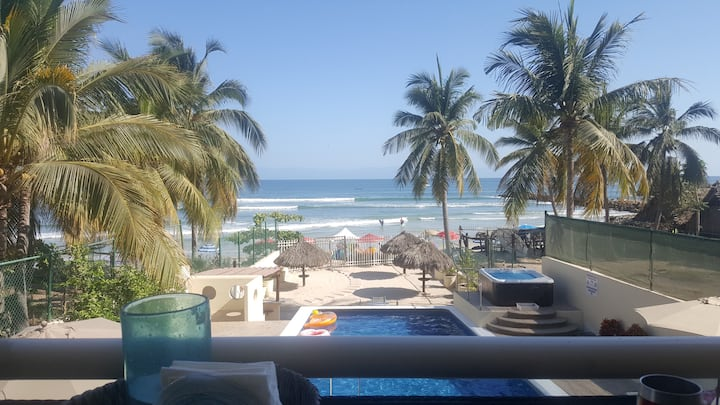 Punta de Mita Beachfront Condo..Updated 2019!!
