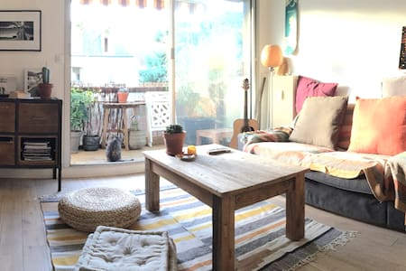 Cosy 2 Rooms Appmt with 2 Sunny Terrasses - Enghien-les-Bains