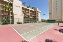 Enjoy a round of tennis at Edgewater.