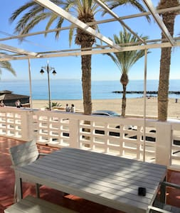 MODERN and BRIGHT APARTMENT in front of the sea! - Aguadulce