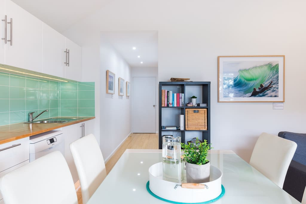 A light and bright interior creates a relaxed and tranquil environment.