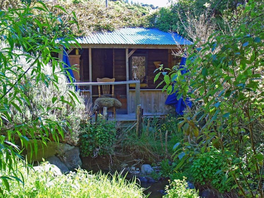 The Bedouin Creek Hut.