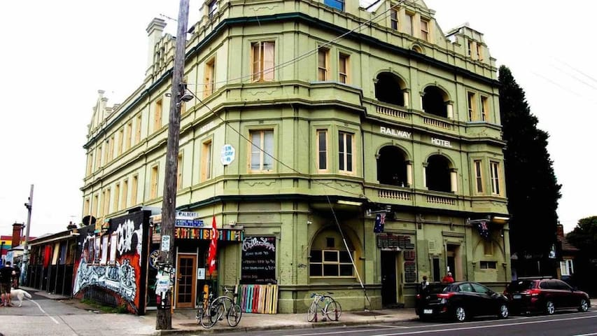 Perfect location for Melbourne's Nightlife! - Brunswick - Hostel