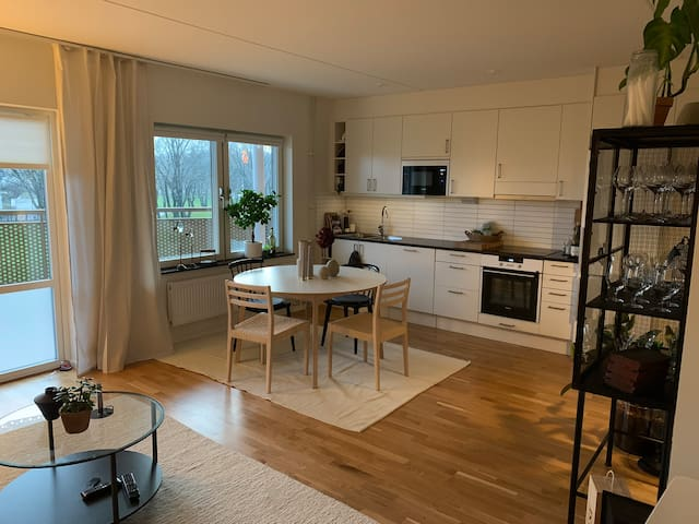 Cosy apartment close to the city and nature