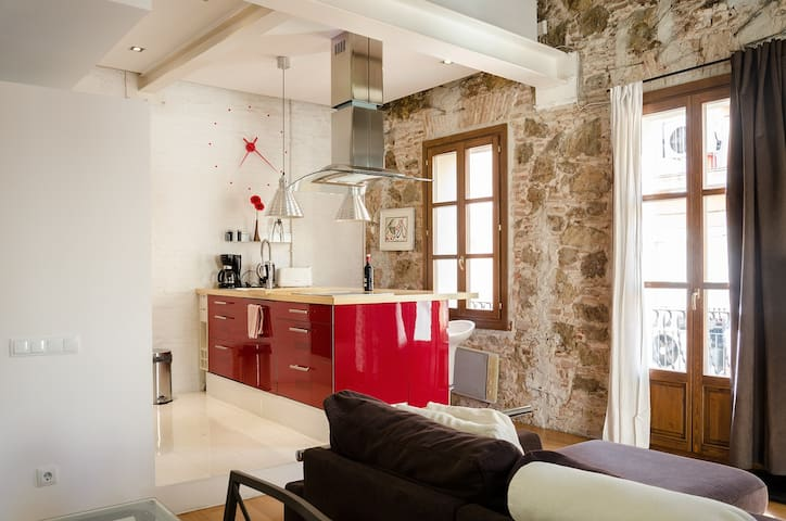 Loft incroyable à BCN Center (B0132)