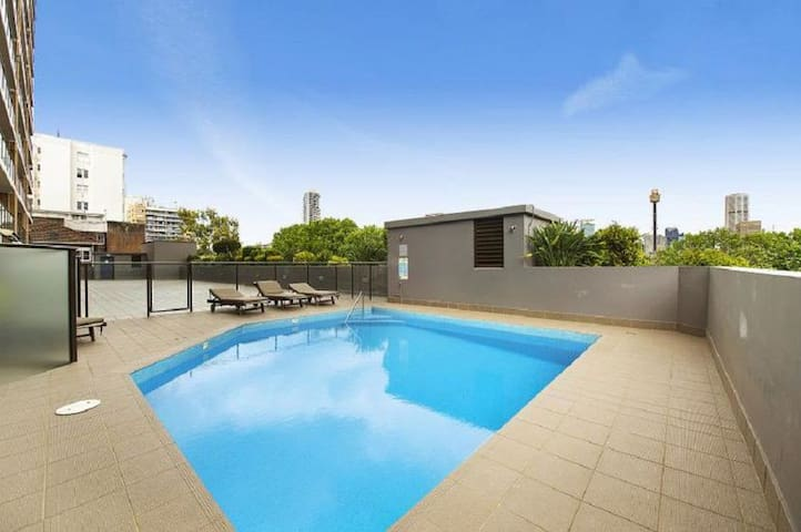 Double Room Great Views + Swimming Pool + Terrace - Potts Point - Apartment