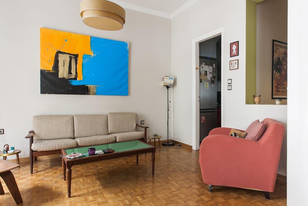 living room is for ... living!