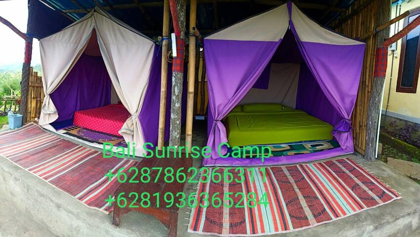 Bali Sunrise Home Stay By Tent or Glamping