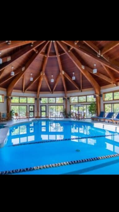 75' pool, hot tub, steam room, and fitness center included in your stay and within walking distance of our unit.