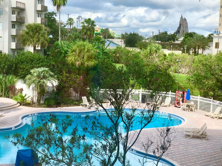 1305U- Volcano Bay & Pool Balcony View * 2 Bedroom Suites