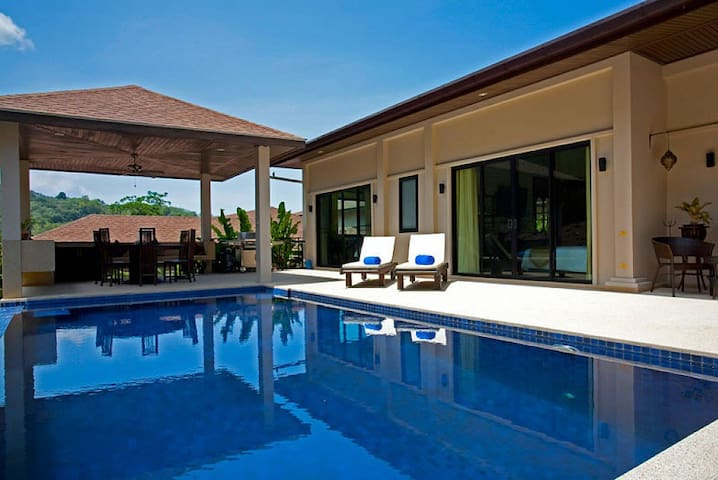 Phailin Talay | 4 Bed Serviced Pool Home Phuket