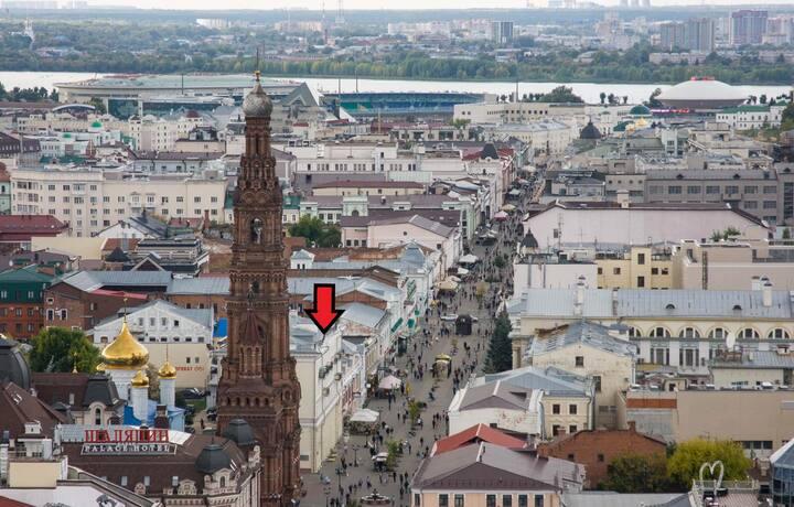 Элегантная квартира в самом центре Казани
