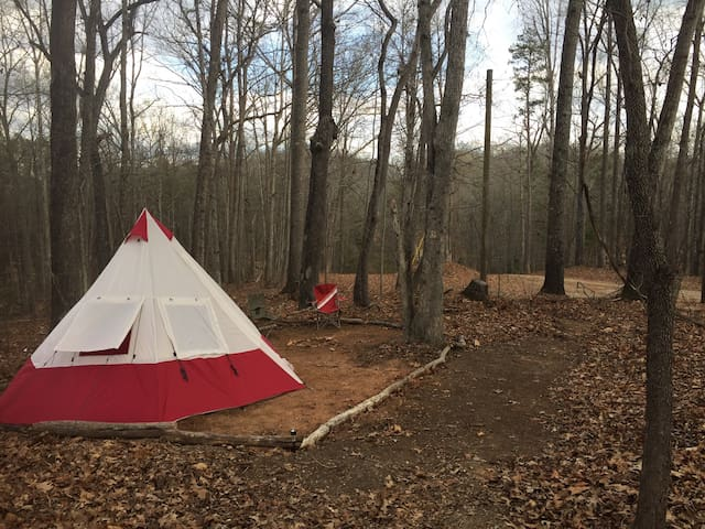 Rugged Off-Grid Campsite w/ Tent, Near State Park! - Lavonia - Other