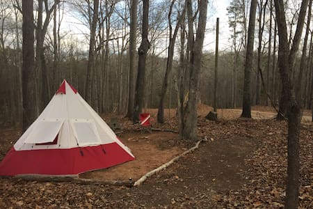 Rugged Off-Grid Campsite w/ Tent, Near State Park! - Lavonia - Diğer