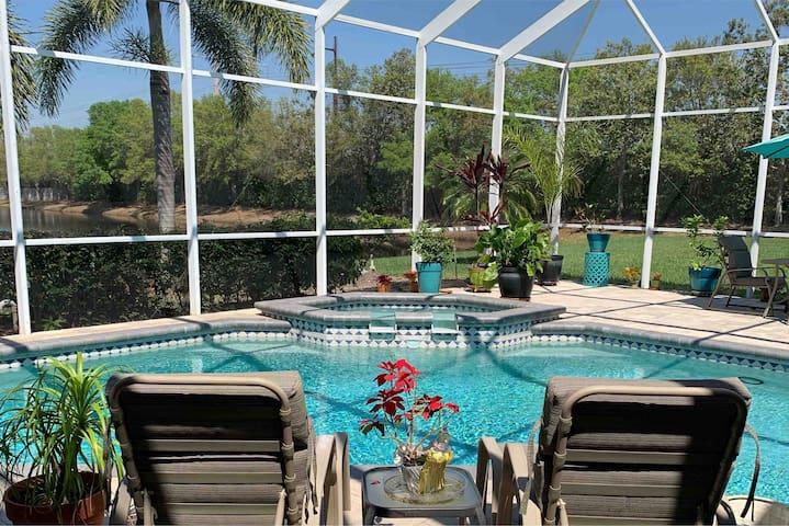 Chez Sherry in Paradise.  Sarasota/Bradenton