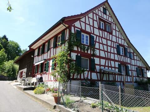 Gästezimmer (2) im Grünen im Thurgauer Riegelhaus