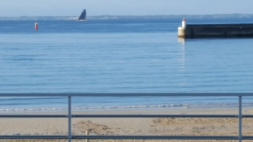 Apartment beach front, panoramic terrace - Quiberon - Pis
