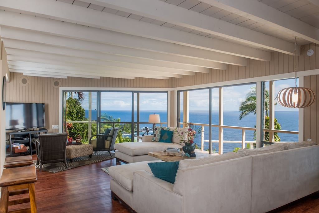 A lovely, renovated home with a relaxed, beach-house feel
