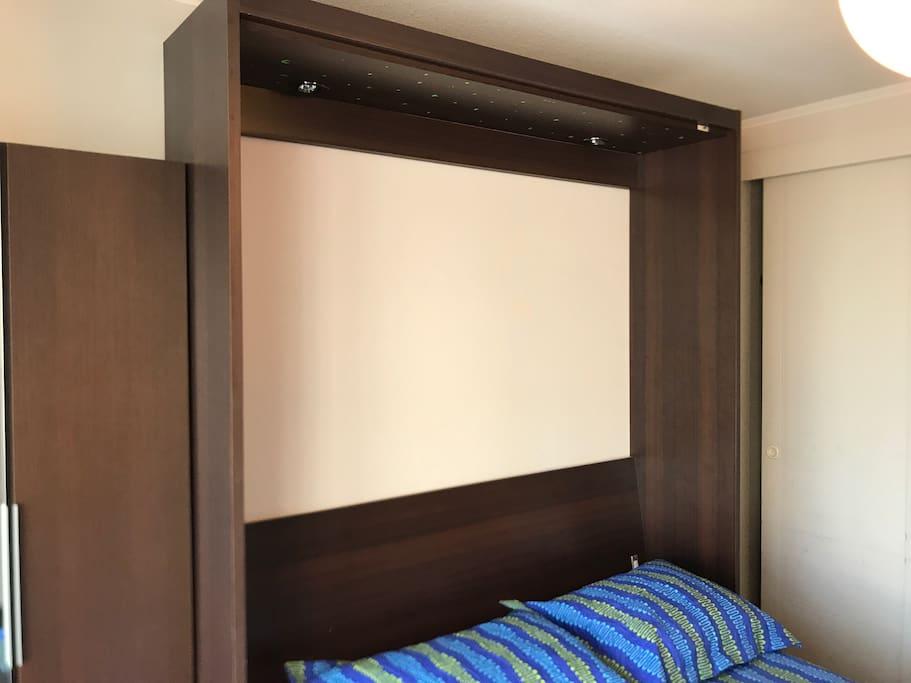 Cama pared Wall Bed