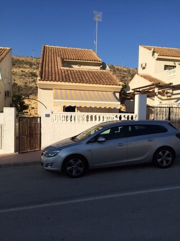 3 Bed villa in Alacante  Spain with shared pool - Rojales - Huis