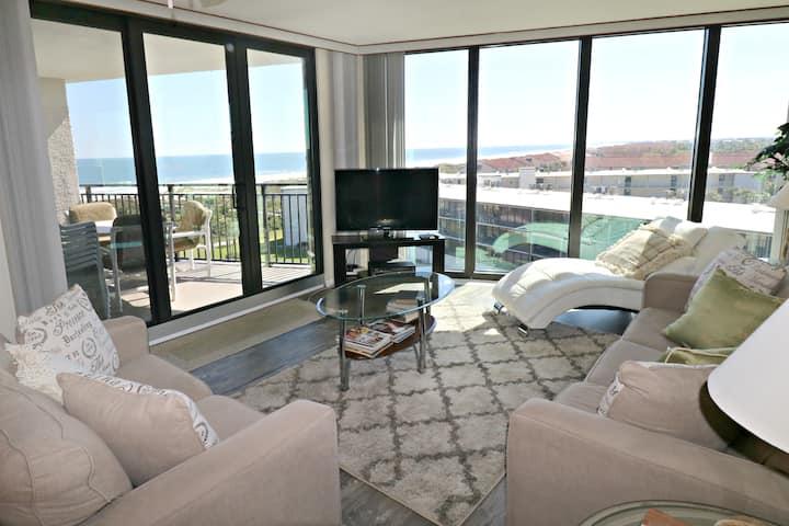 Spectacular Ocean Views from 7th Floor Anastasia Condos 702