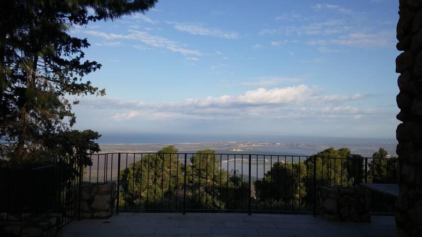 Tuscan style villa overlooking Mediterranean Sea - Zikhron Ya'akov - Villa