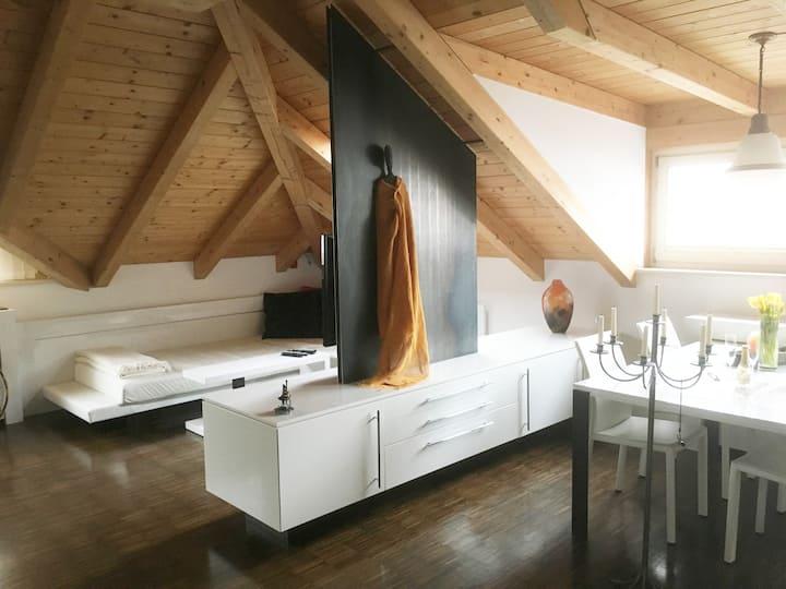 Romantisches Designer - Loft/Studio 68qm