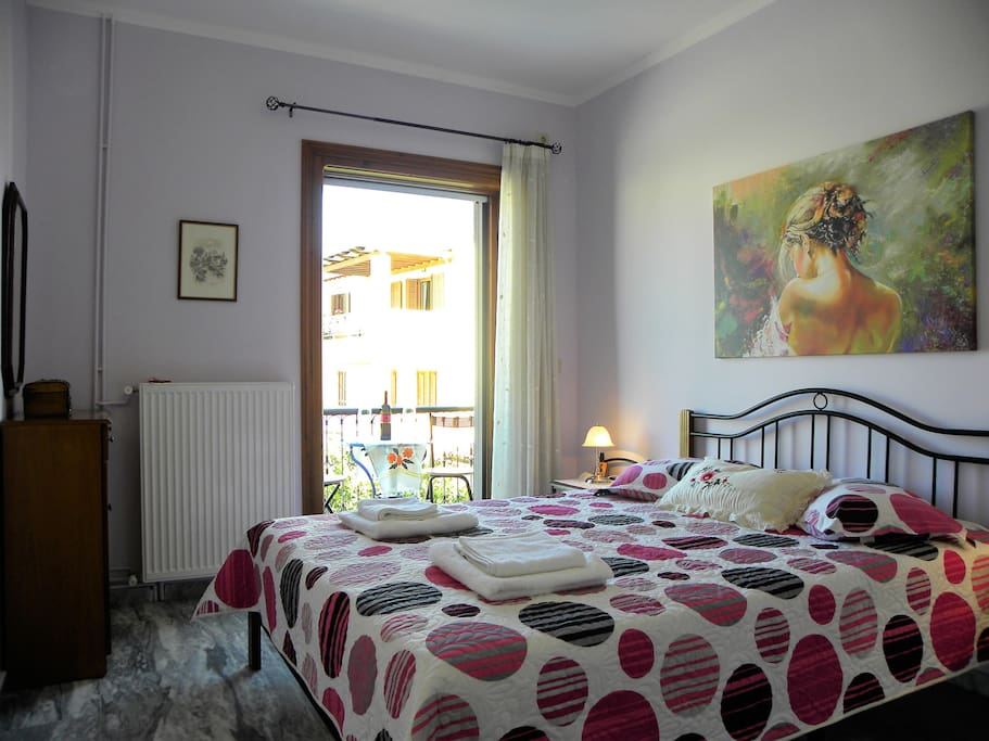 Sunny and Central apartment in Lefkada