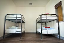 Female-Only Dormitories have 4-10 beds in them and may be shared with other female guests. Bed assignment is first-come, first-served.