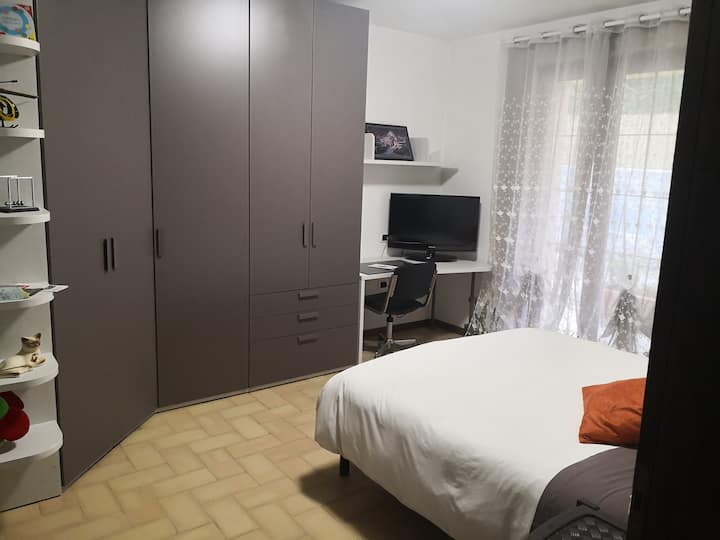 Jack house double room in the green Umbrian hills