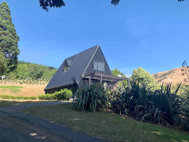 The A-frame rural retreat, Port Levy