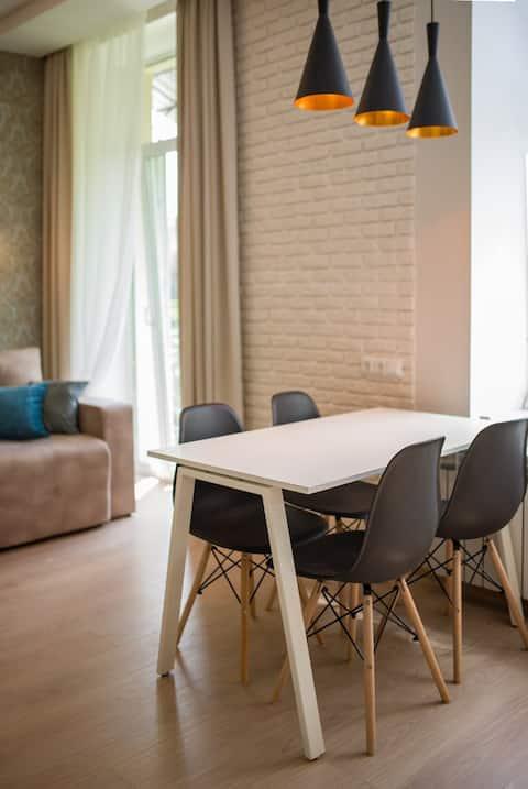 Современная квартира в центре города