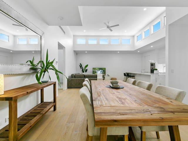 Beautiful architecture and stylish furnishings