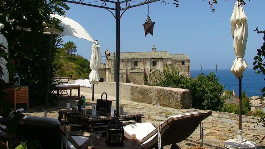 maison de charme sur la mer - Pino - House