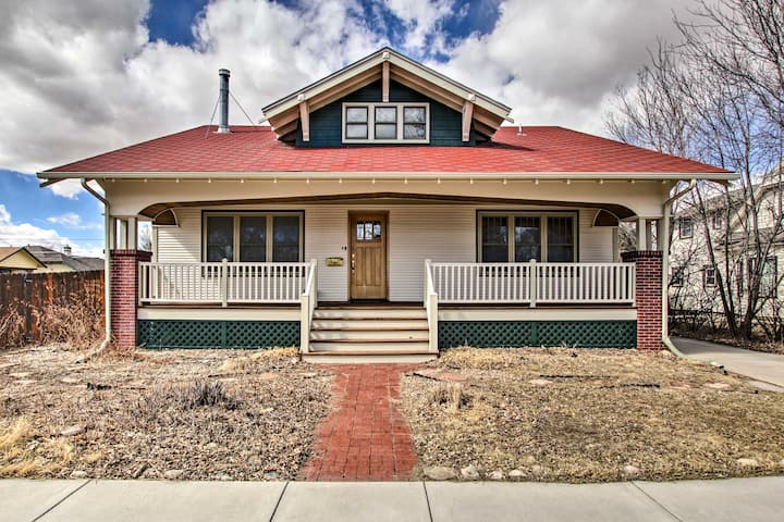 NEW! Laramie Home w/ Backyard: ¼ Mi to Univ of WY!