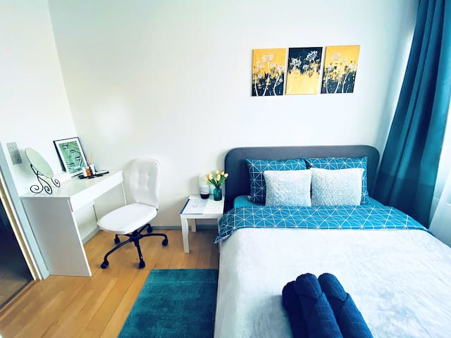 Bright and cozy room