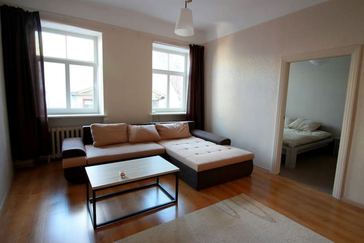 Bright 1 bedroom flat in Old Town - Riga - Daire