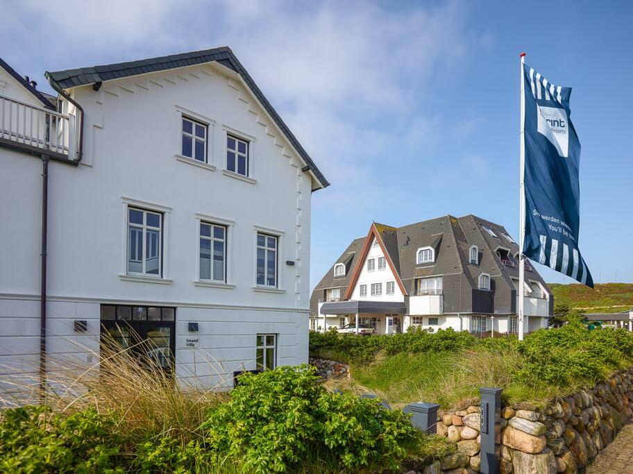 Außenansicht vom Dorint Strandresort & Spa Sylt/Westerland