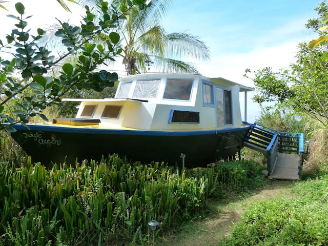 Peaceful cozy Boat room - Captain Cook - Bed & Breakfast