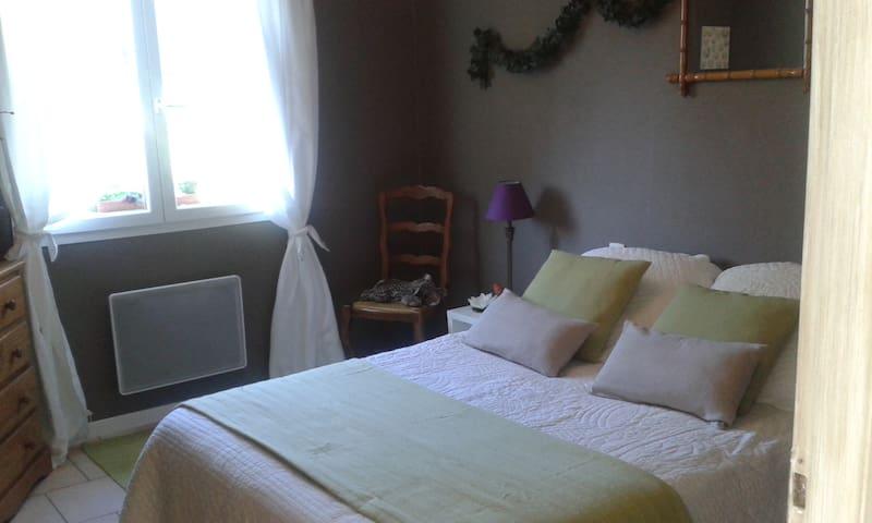 chambre au calme dans villa.