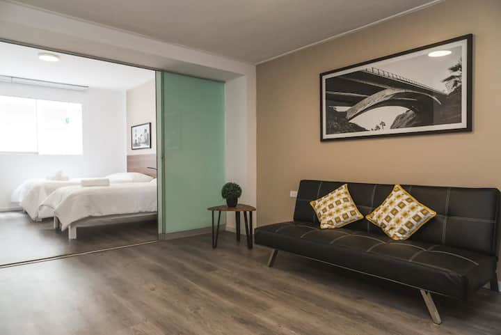 Get relaxed in the heart of Miraflores - apt #D