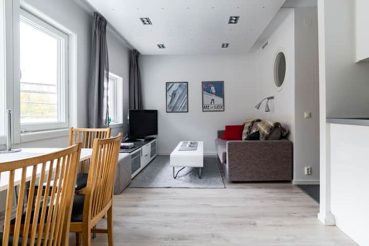 Modern Ski in /Ski out Apartment for 6 people