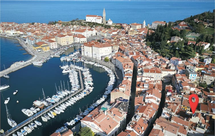 Holiday apartment with 1 bedroom on 42m² in Piran
