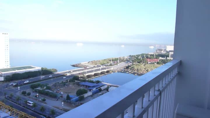 Shore Residences 1bedroom with balcony and parking