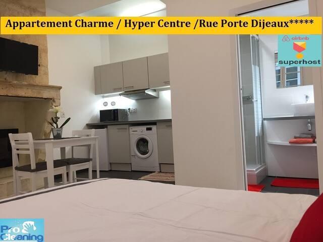 .Appart Charme /Hyper Centre/  Porte Dijeaux*****