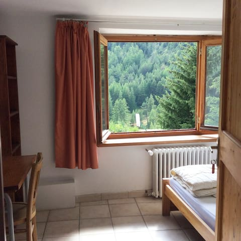 Arvieux: double room