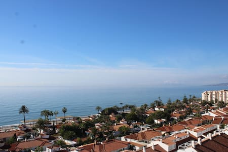 Coqueto apartamento con vistas al mar y la montaña - Torrox - Apartemen