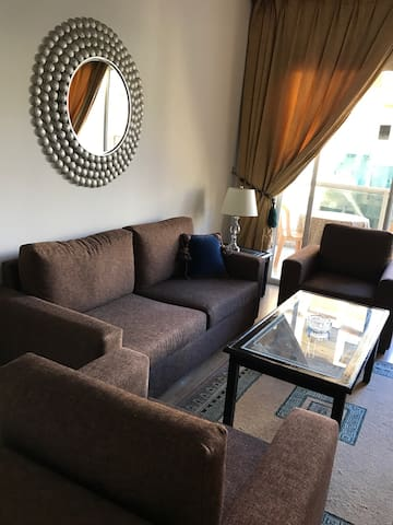 Spacious Suite with Balcony and view of Hamra streets